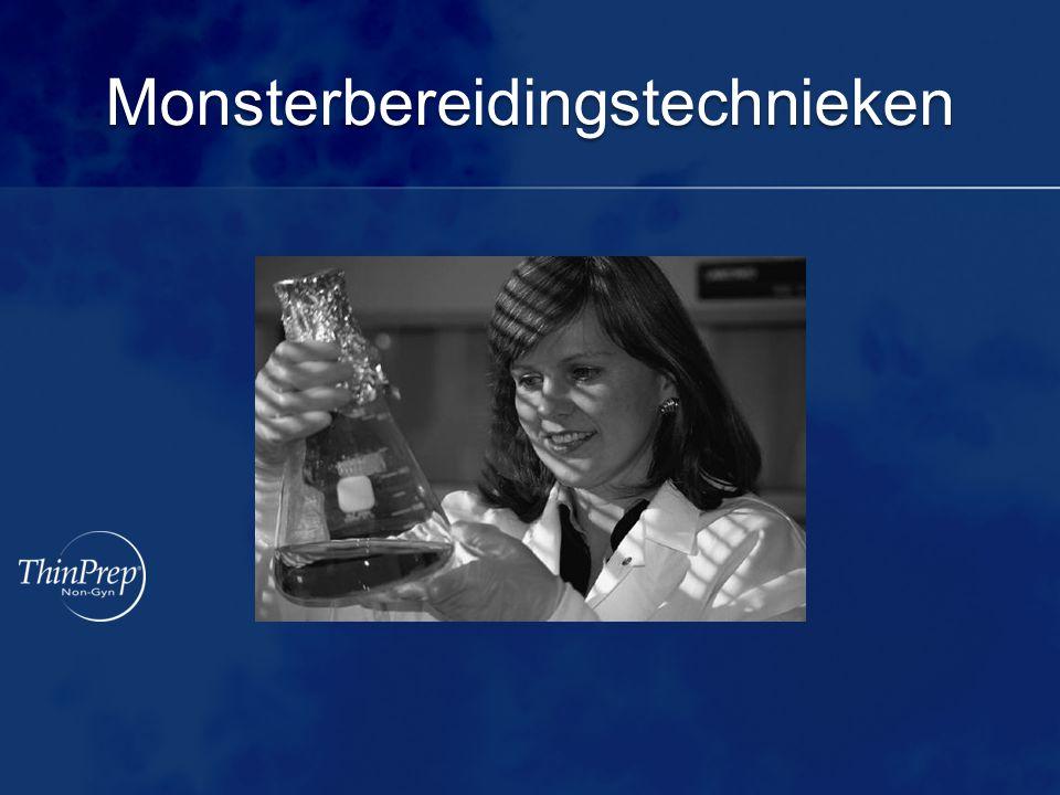 Monsterbereidingstechnieken