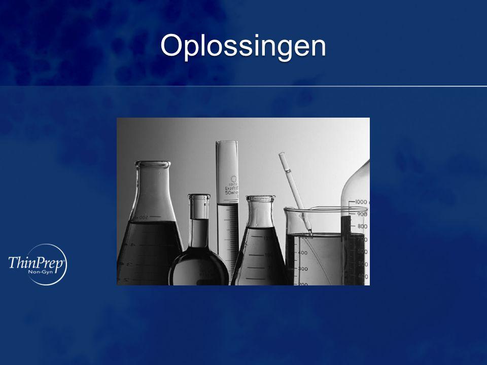 Verzameling Verzameling Slij mbevattende (mucoïde) specimens Rechtstreeks in 30 ml CytoLyt®- oplossing verzamelen Aan een vers monster dient u zo spoedig mogelijk 30 ml CytoLyt- oplossing toe te voegen