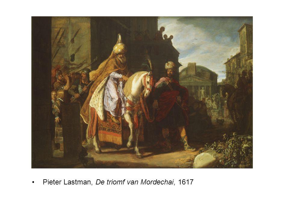 Pieter Lastman, De triomf van Mordechai, 1617