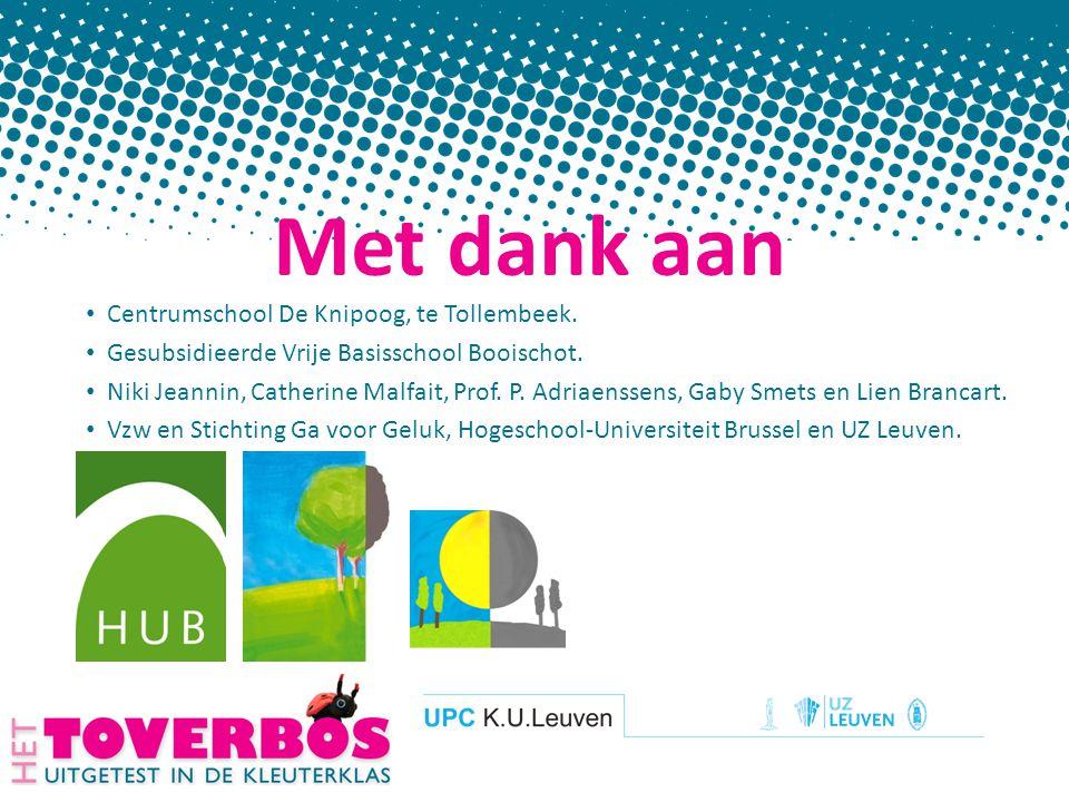 Met dank aan Centrumschool De Knipoog, te Tollembeek.