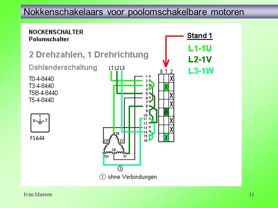 Ivan Maesen11 Nokkenschakelaars voor poolomschakelbare motoren
