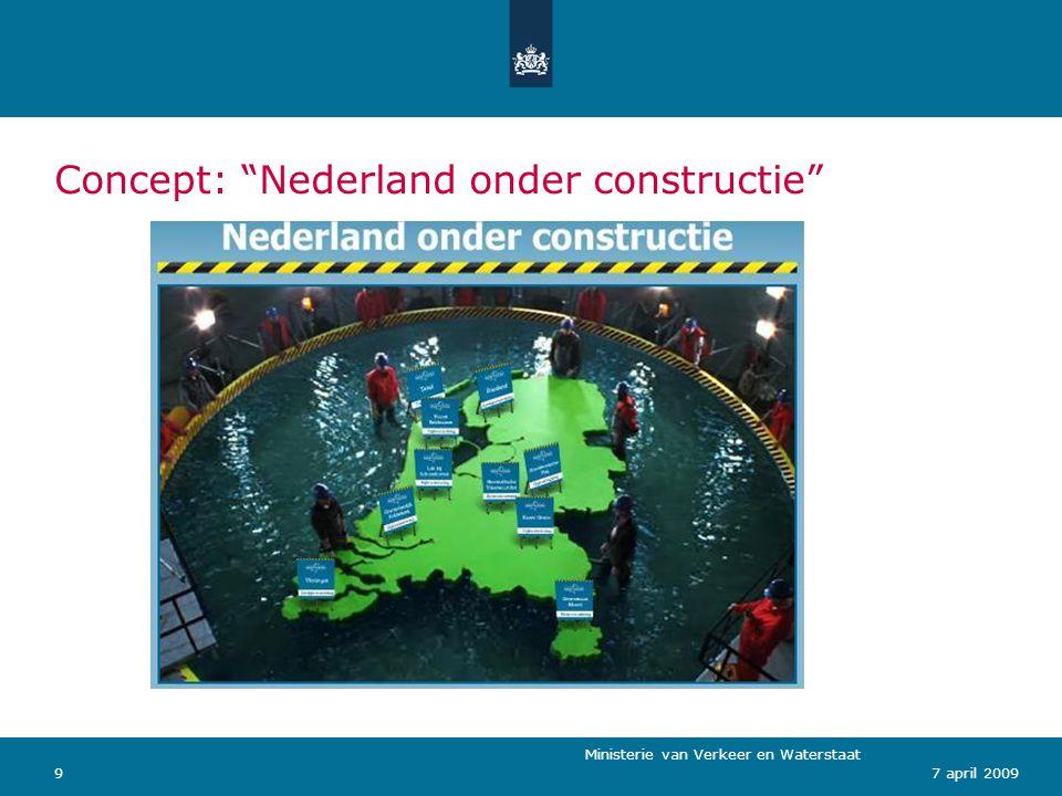 Ministerie van Verkeer en Waterstaat 107 april 2009 Bijdrage regionale projecten: wat kunt u doen.