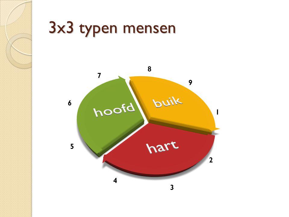 3x3 typen mensen 9 1 8 7 6 5 4 3 2
