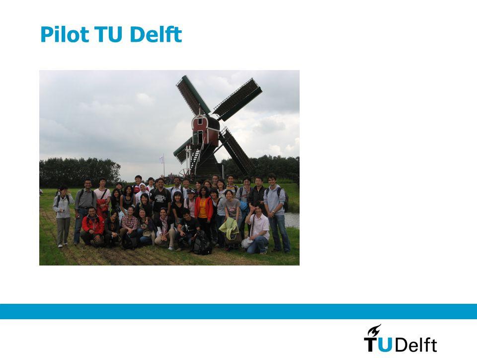 Pilot TU Delft