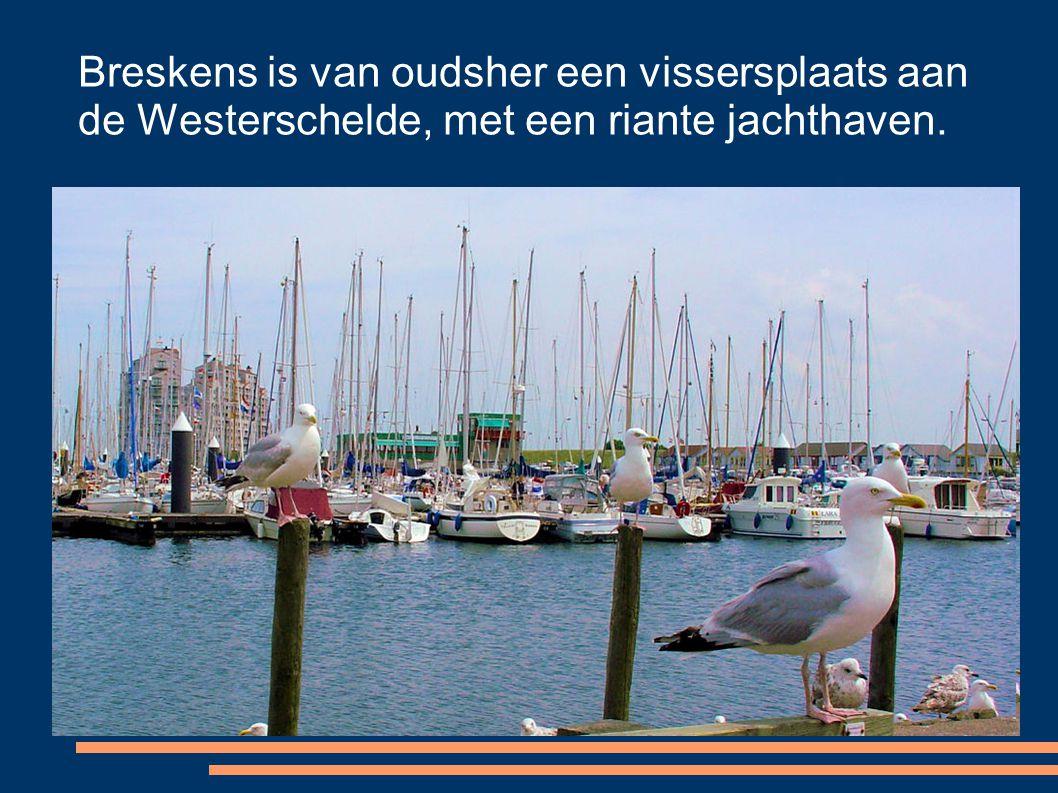 Breskens is van oudsher een vissersplaats aan de Westerschelde, met een riante jachthaven.