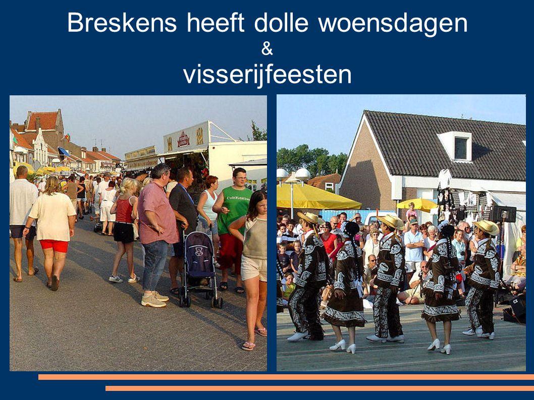Breskens heeft dolle woensdagen & visserijfeesten