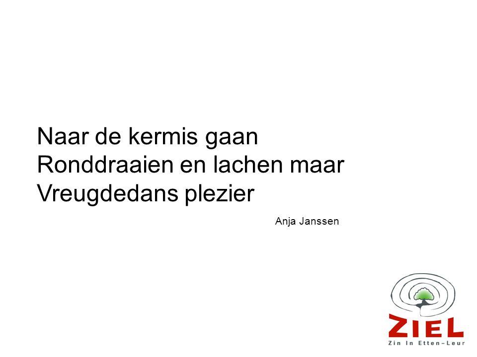 Naar de kermis gaan Ronddraaien en lachen maar Vreugdedans plezier Anja Janssen