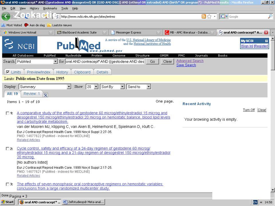 Pagina  3 Zoekactie