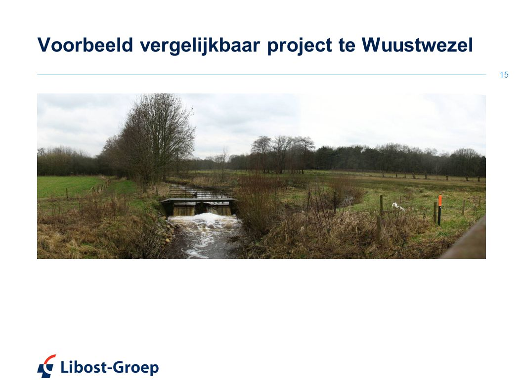 15 Voorbeeld vergelijkbaar project te Wuustwezel