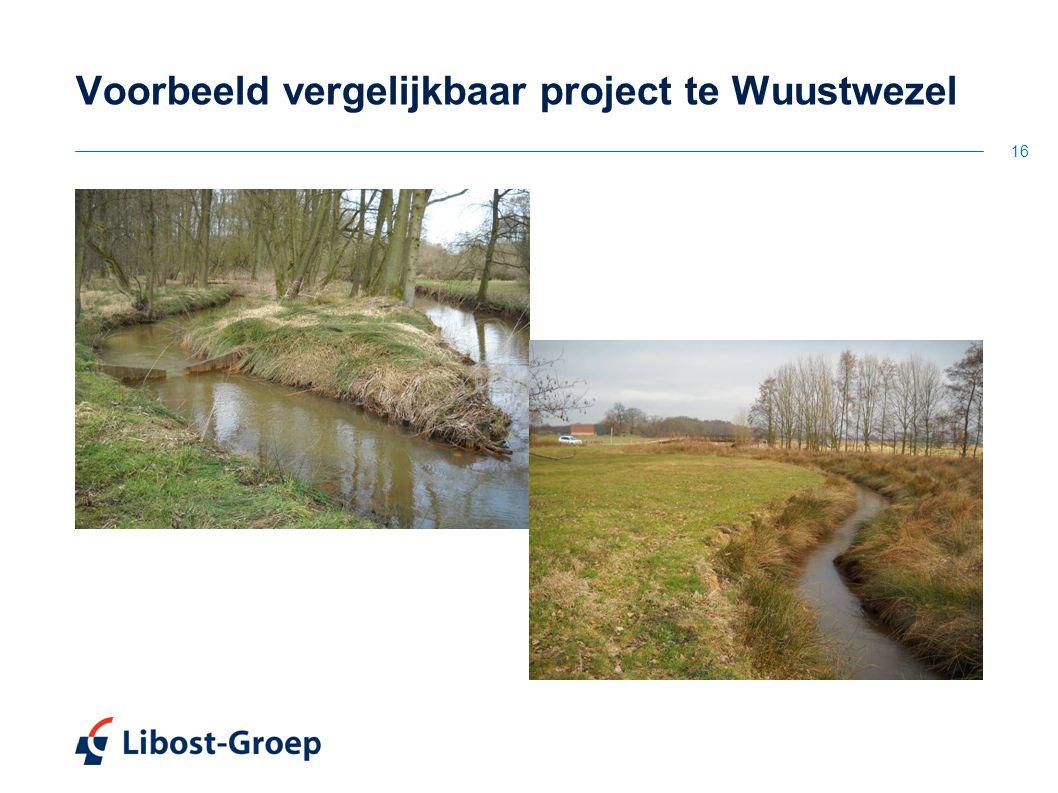 16 Voorbeeld vergelijkbaar project te Wuustwezel