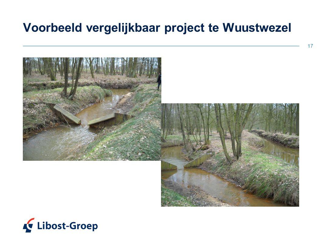 17 Voorbeeld vergelijkbaar project te Wuustwezel
