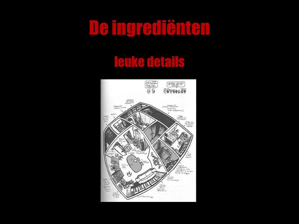 De ingrediënten leuke details