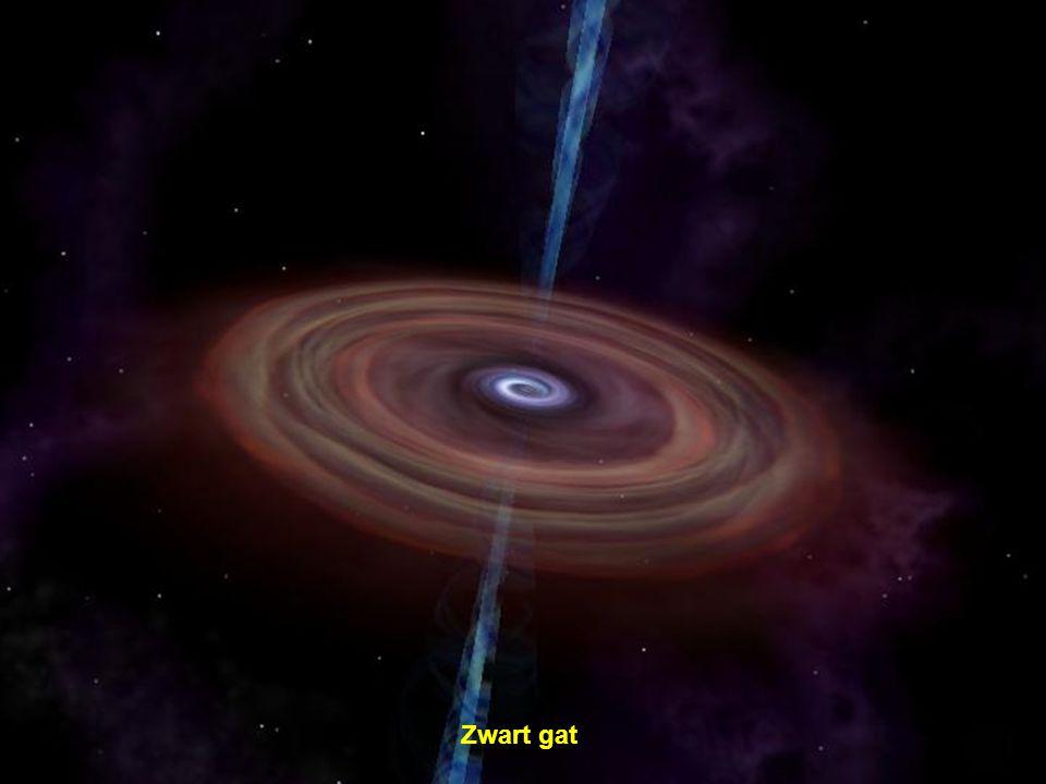 Melkweg (het rode teken stelt onze Zon voor)