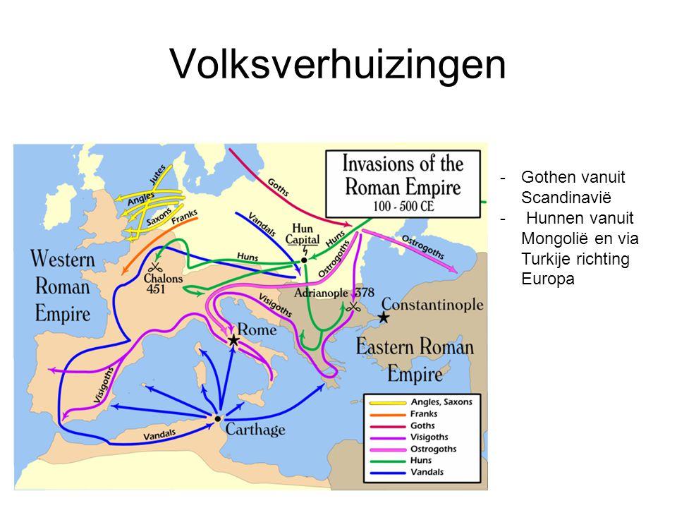 Verandering van Romeinse vechtlustige mentaliteit: 476 na Chr.