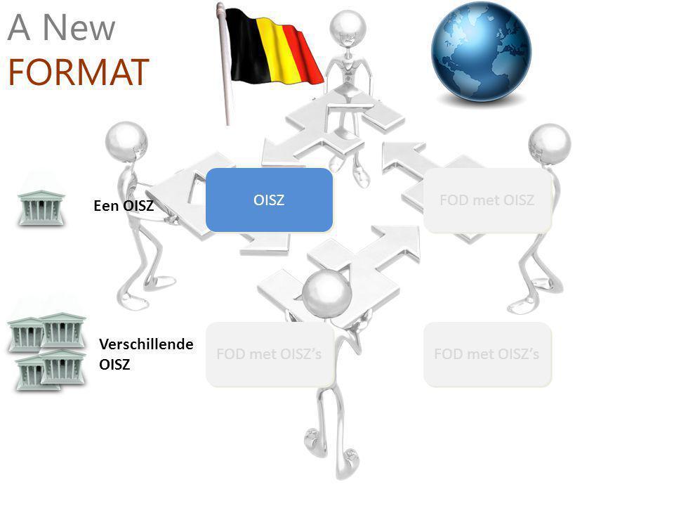 Verschillende OISZ Een OISZ OISZ FOD met OISZ FOD met OISZ's A New FORMAT