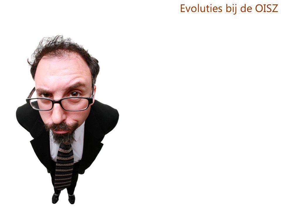 Evoluties bij de OISZ