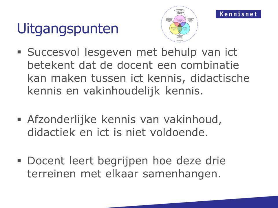 Bedankt voor uw aandacht! John Hanswijk j.hanswijk@kennisnet.nl mbo.kennisnet.nl