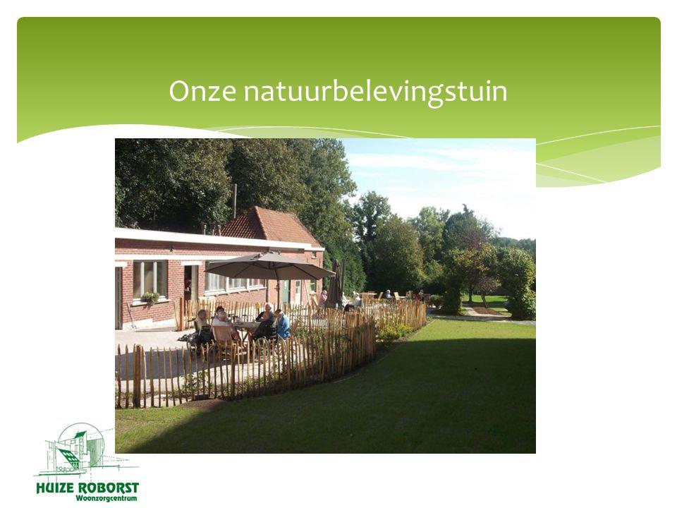 Onze natuurbelevingstuin