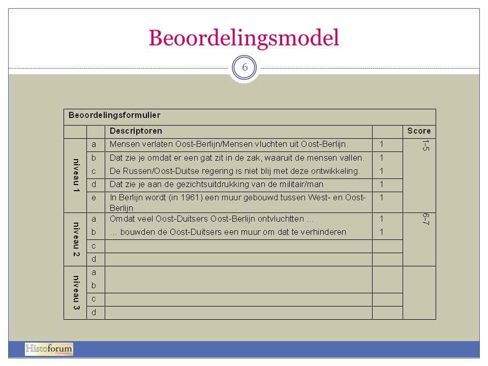 Beoordelingsmodel 6