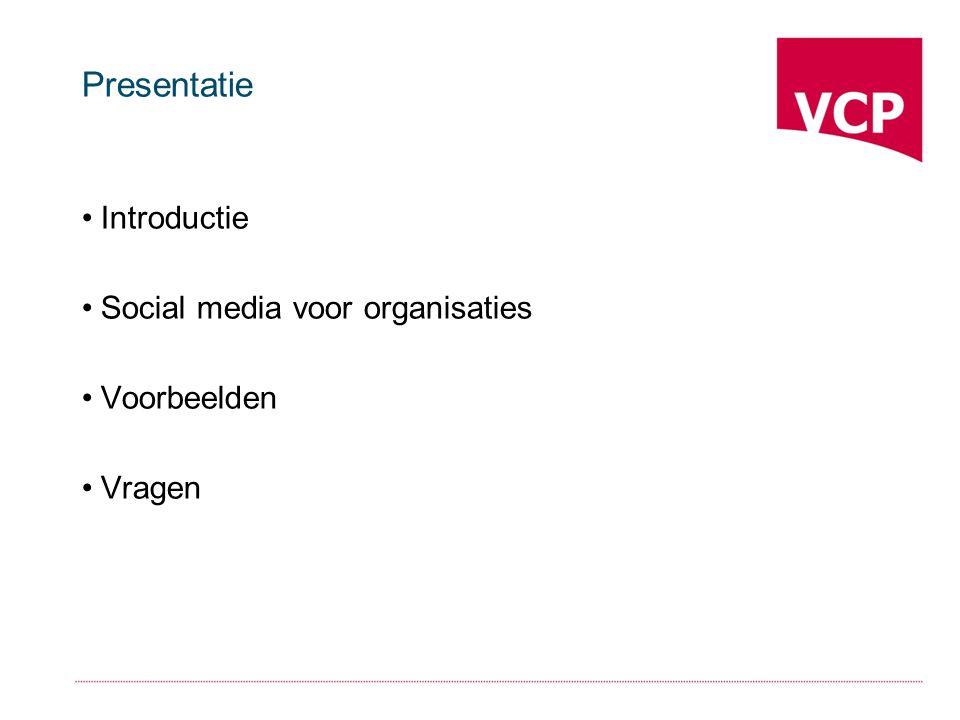 VCP Initiatief van de Chronisch Zieken en Gehandicaptenraad en Platform VG Informeren en verbinden van lokale belangenorganisaties: -Netwerkbijeenkomsten -VCPnet (2.500 leden) -Thema-nieuwsbrieven -Helpdesk Nieuwe verbindingen met gemeenten, bedrijven en organisaties
