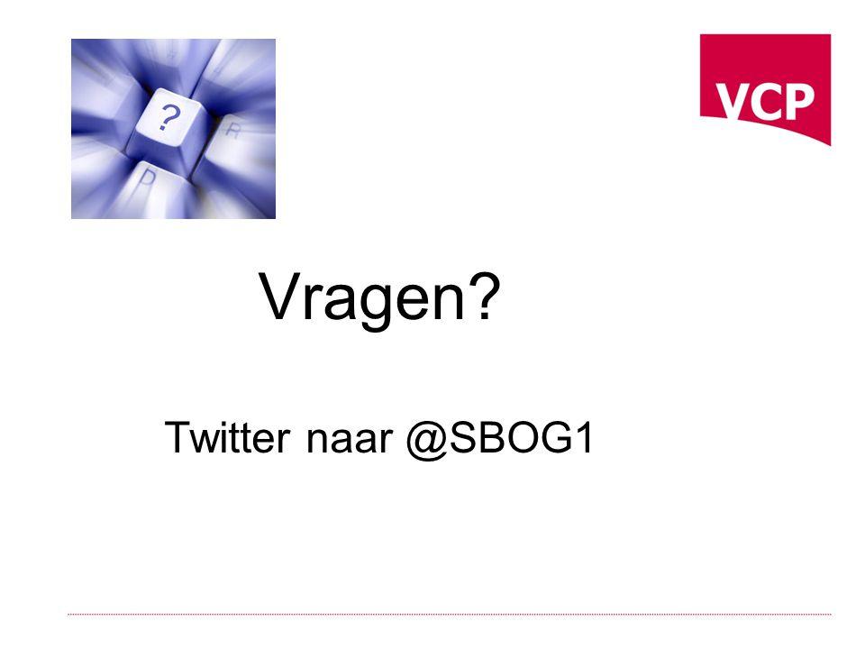 Vragen Twitter naar @SBOG1