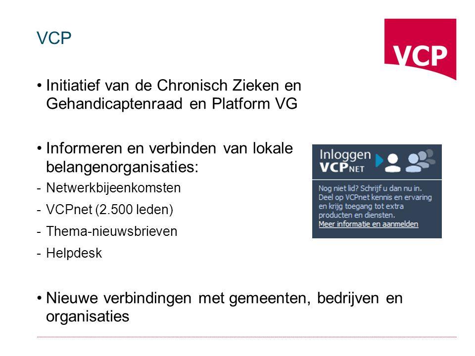 Liza van Wessel Communicatieadviseur/accountmanager VCPnet – community belangenbehartigers Communicatieworkshops