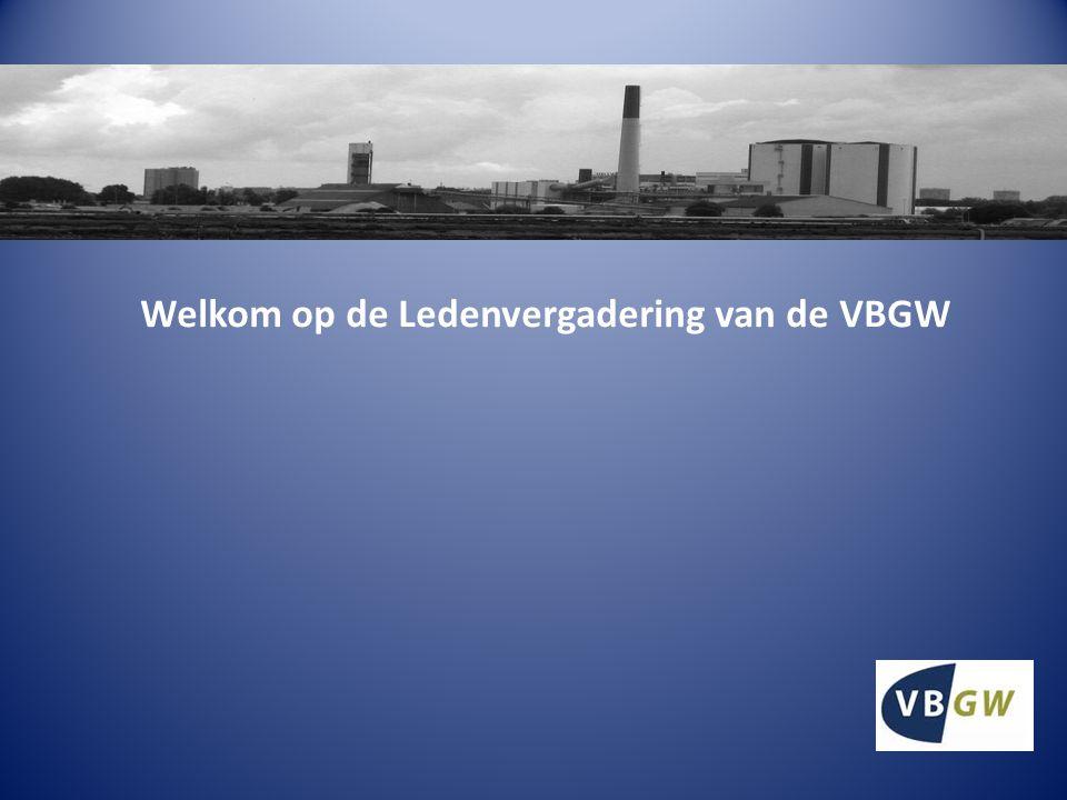 Welkom op de Ledenvergadering van de VBGW