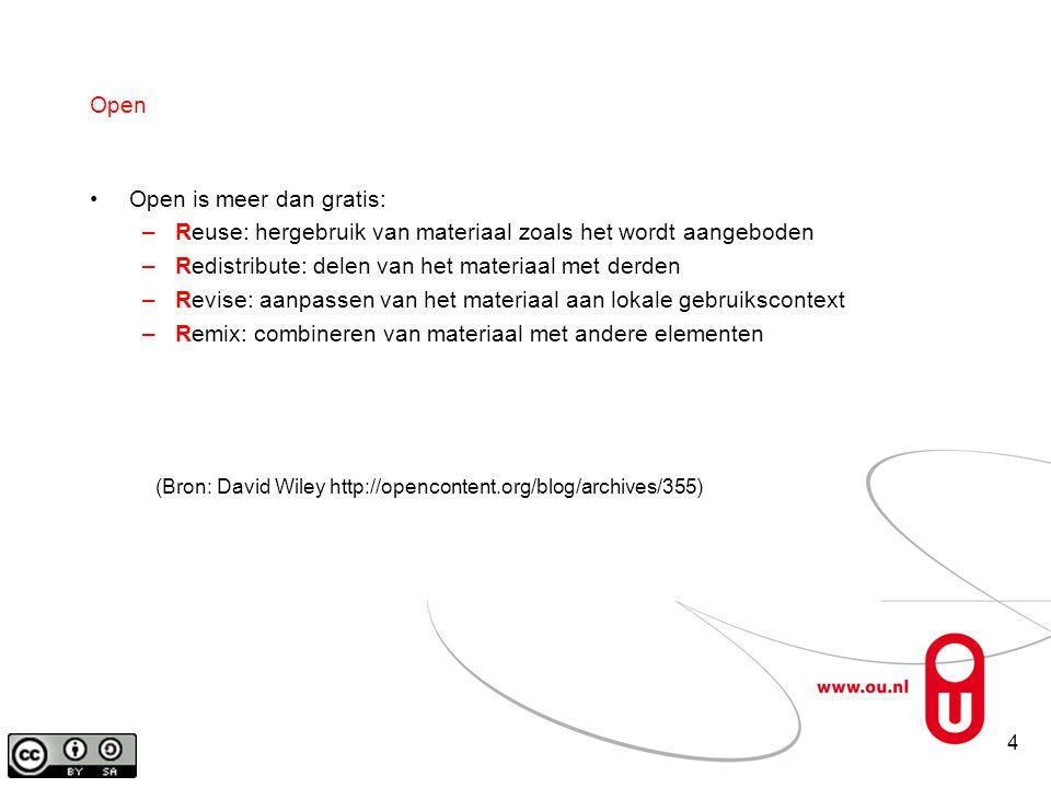 15 Terug Dank voor uw aandacht! robert.schuwer@ou.nl darco.jansen@ou.nl
