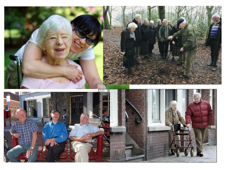 Dementieconsulenten 16,5 fte, 22 dementieconsulenten Specialistenteam, aanvullend op reguliere zorg Palliatieve zorg, mantelzorgondersteuning, technologie-domotica etc….