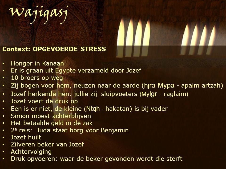 1.Je hart openen Gen.45:3 Fwvy yna Ani Joseef Ik ben Jozef Wajigasj 2.