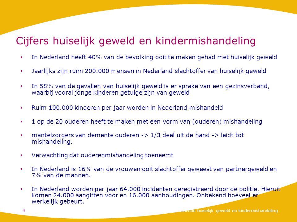 Cijfers huiselijk geweld en kindermishandeling In Nederland heeft 40% van de bevolking ooit te maken gehad met huiselijk geweld Jaarlijks zijn ruim 20