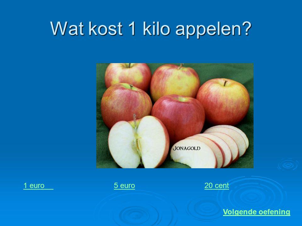Wat kost deze bal? 70 euro4 euro15 euro Volgende oefening