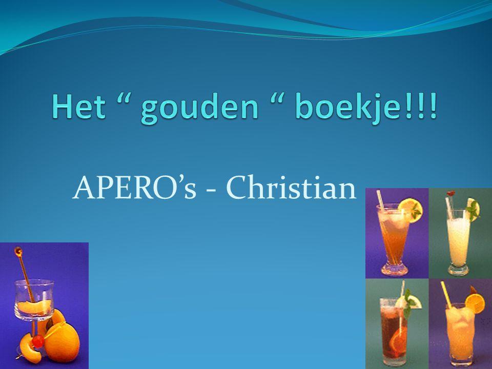 APERO's - Christian