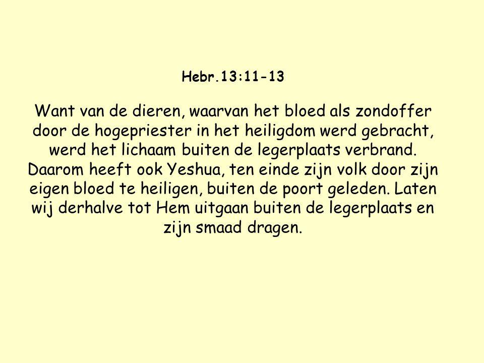 1 Tim.2:5 Want er is één God en ook één middelaar tussen God en mensen, de mens Mashiach Yeshua, die Zich gegeven heeft tot een losprijs voor allen; e