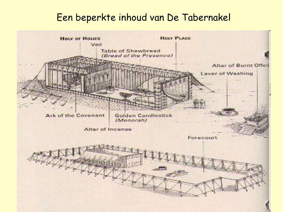De Tabernakel of Tent der Samenkomst is er een verschil ? Misschien iets om over na te denken