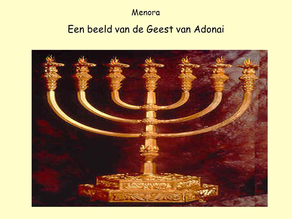 Menora Een beeld van de Geest van Adonai