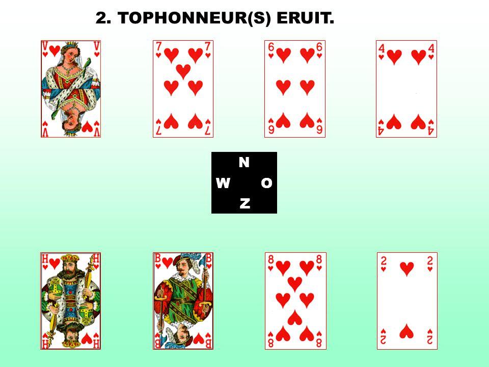N WO Z 2. TOPHONNEUR(S) ERUIT.