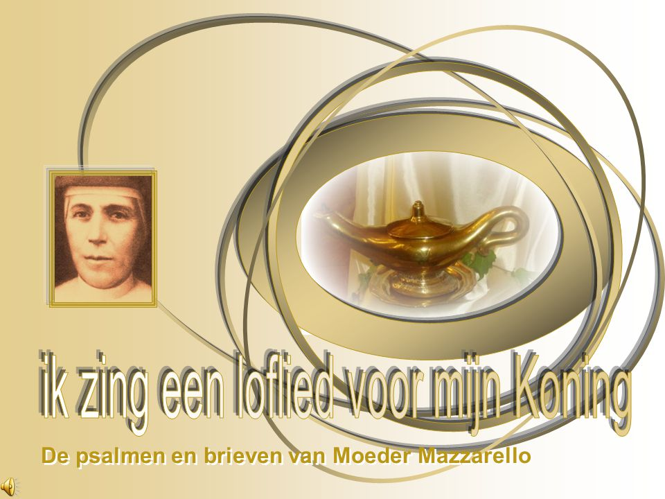 De psalmen en brieven van Moeder Mazzarello