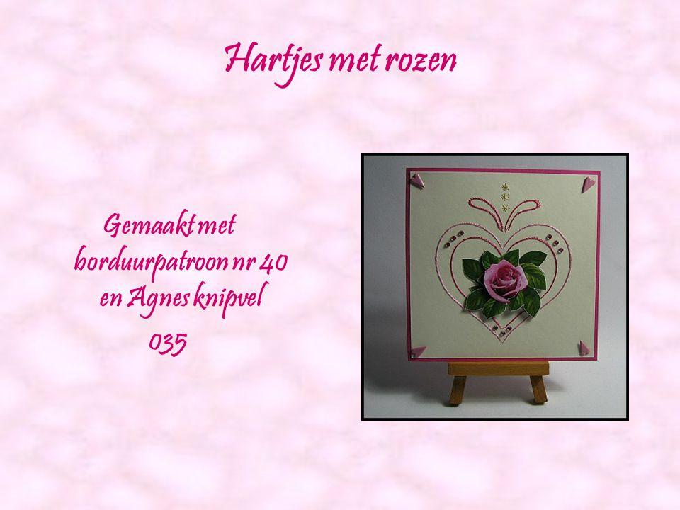 Kerstboom Gemaakt met borduurpatroon nr 39 En Agnes knipvel 043