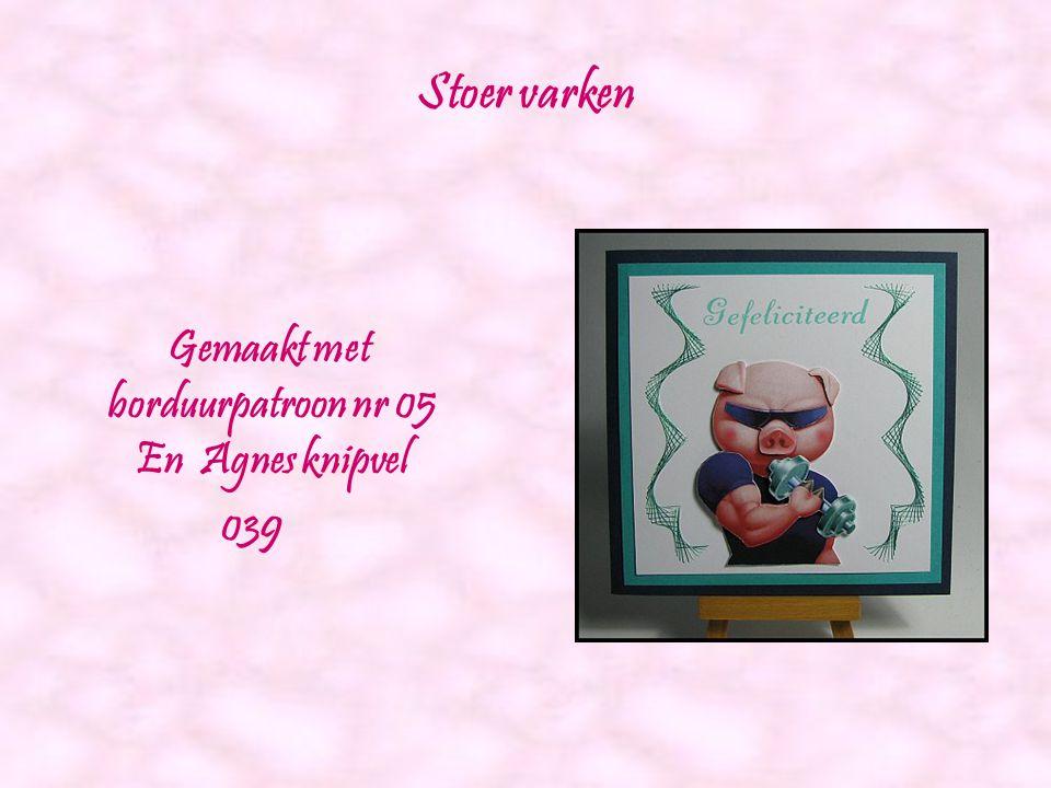 Vierkante borduurkaarten. Gemaakt door: Hobbyshop Agnes www.hobbyshopagnes.nl