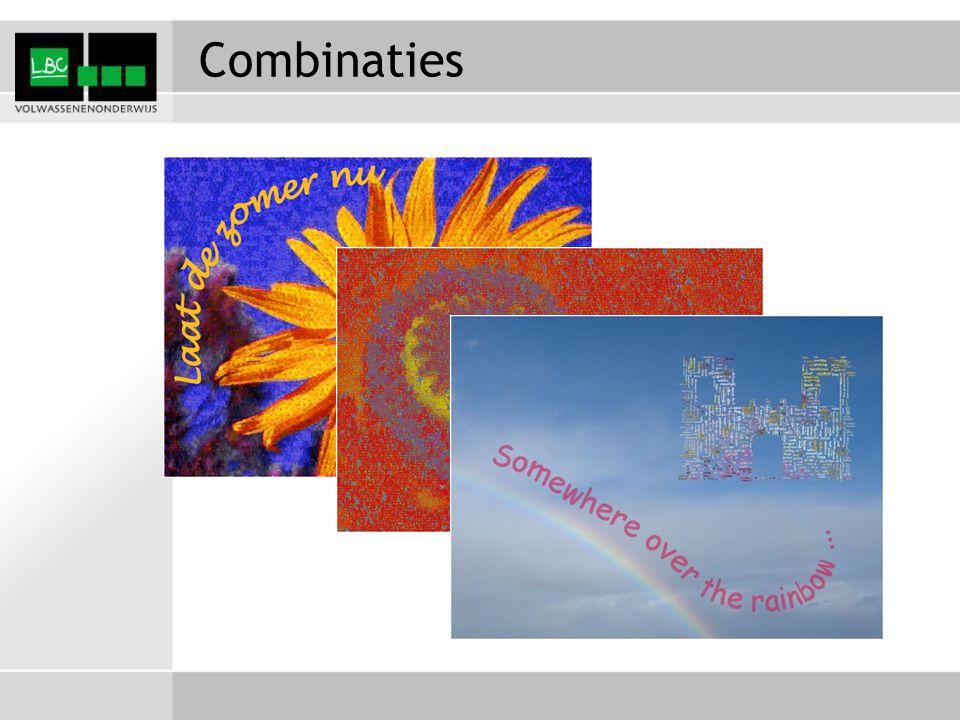 Combinaties