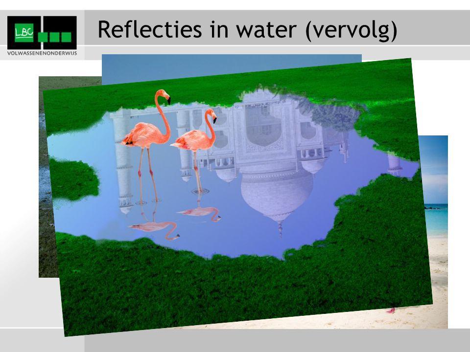 Reflecties in water (vervolg)