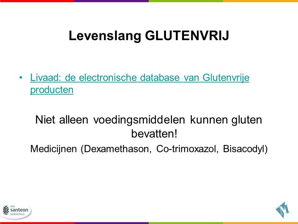Levenslang GLUTENVRIJ Livaad: de electronische database van Glutenvrije productenLivaad: de electronische database van Glutenvrije producten Niet alle