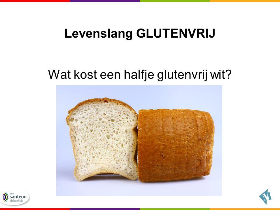 Levenslang GLUTENVRIJ Wat kost een halfje glutenvrij wit?