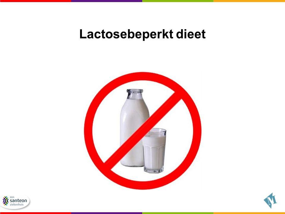 Lactosebeperkt dieet