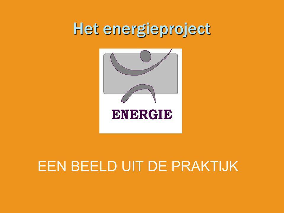 Het energieproject EEN BEELD UIT DE PRAKTIJK