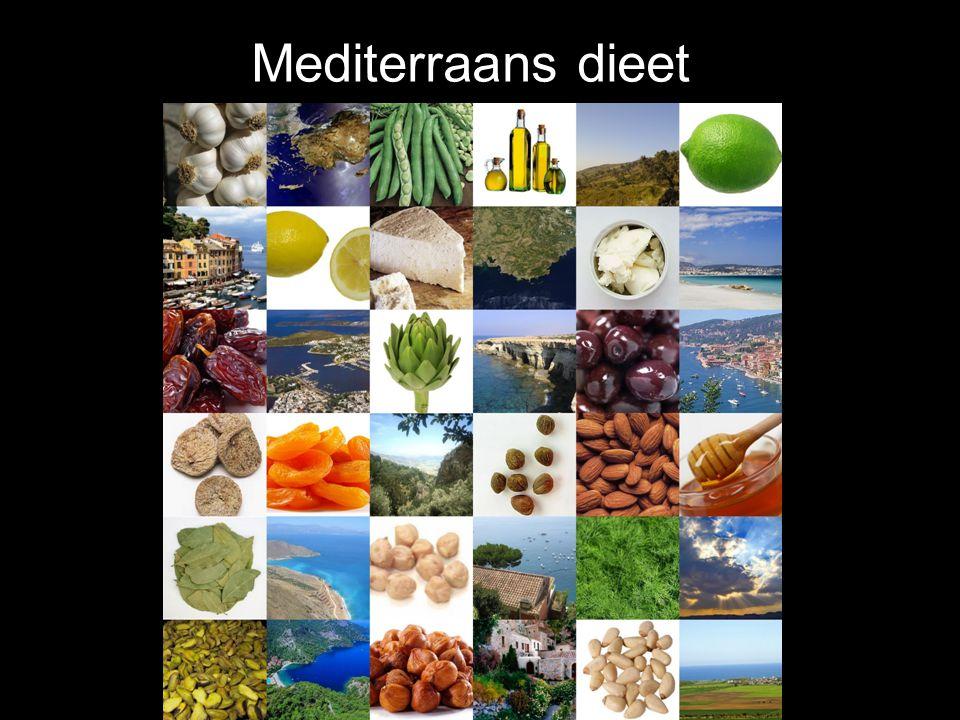 Mediterraanse voedingsgewoonten en prostaatkanker mortaliteit