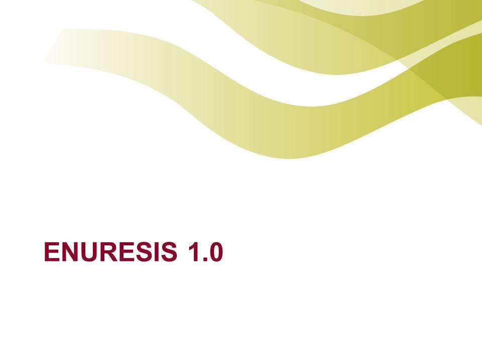 Incidentie Enuresis 4-7 jaar 12% jongens 8% meisjes 13-16 jaar 1%-2% volwassenen 0.5%
