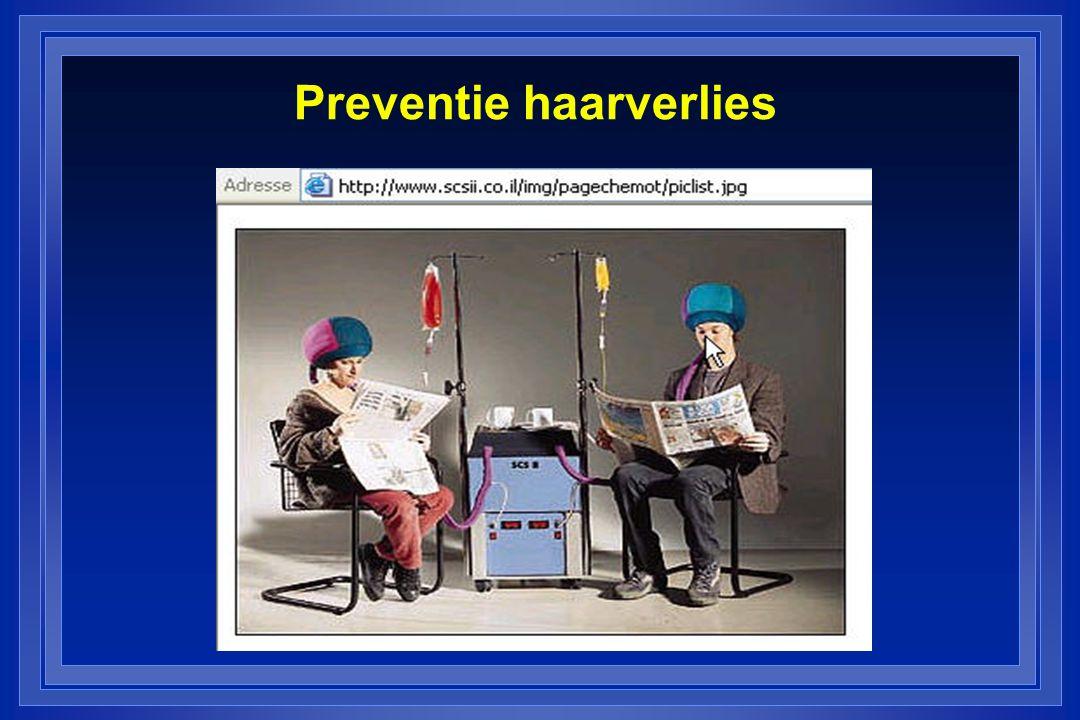 Preventie haarverlies