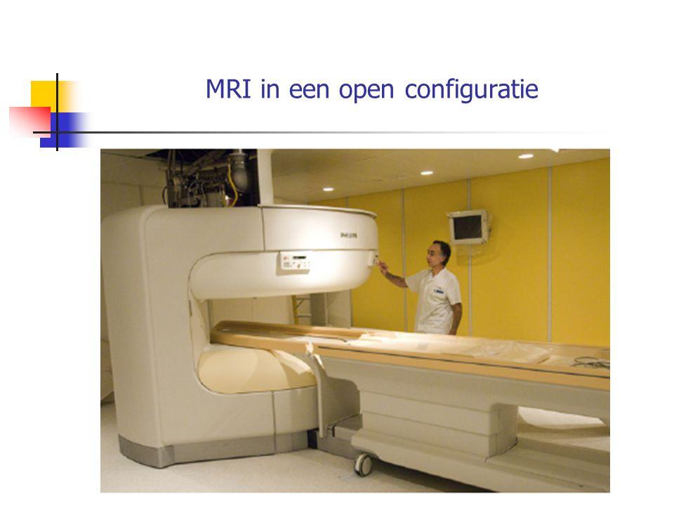 MRI in een open configuratie